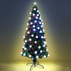 Jingle Jollys 2.1M 7FT LED Christmas Tree Multi Colour