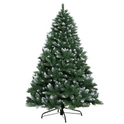 Jingle Jollys 7FT Christmas Snow Tree - Green