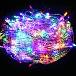 Jingle Jollys 100M Christmas String Lights 500LED Multi Colour