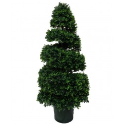 Artificial UV Resistant Spiral Topiary - 130cm