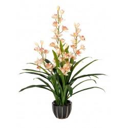 Artificial Orchid (Cymbidium) 115cm