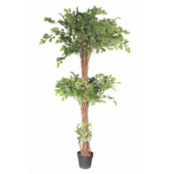 Artificial Three Level Ficus Tree 170cm