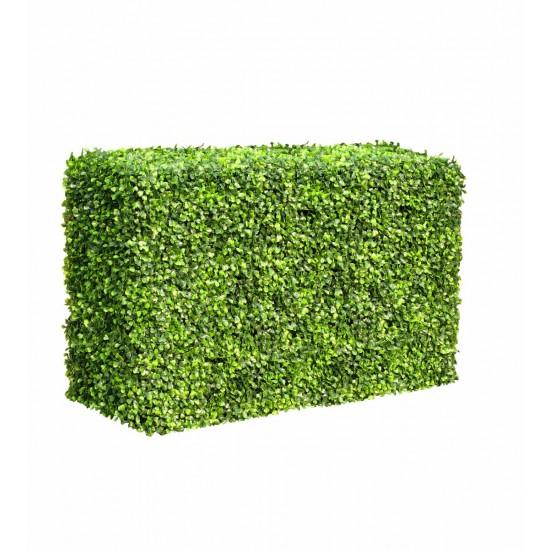 Portable Boxwood Hedge 1m Long 50cm High 30cm Deep