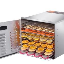 Food Dehydrator 304 Stainless Steel 10 Trays 1000W