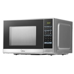 Midea 25L 900W Electric Digital Solo Microwave Oven Kitchen Silver
