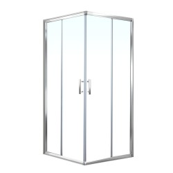 Cefito 900MM Square Shower Cubicle Screen