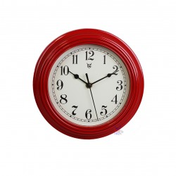 9'' Ripple Frame Plastic Wall Clock