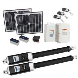 1200KG 20W Solar Double Swing Auto Motor Remote Gate Opener