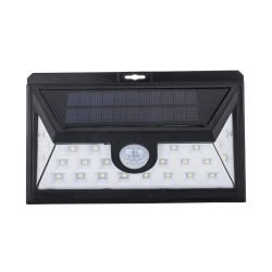 4x 24LED Solar Powered PIR Motion Sensor Light Garden Security Lights Outdoor