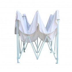 3x3m Popup Gazebo Party Tent Marquee -White
