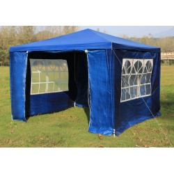 3x3m Gazebo Outdoor Marquee Tent Canopy Blue