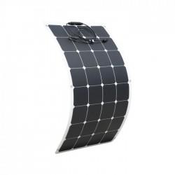 100W 12V Flexible Solar Panel Kit Caravan Boat Mono Battery Charging Camping