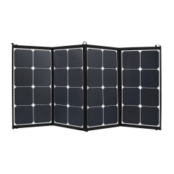 100W Flexible Folding Solar Panel Kit Mono Caravan Camping 12V Battery Charging