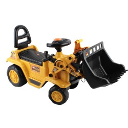 Keezi Kids Ride On Bulldozer - Yellow
