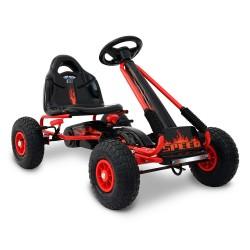 Rigo Kids Padel Powered Go Kart - Red