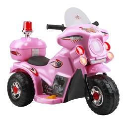 Rigo Kids Ride On Motorbike Motorcycle Car Pink