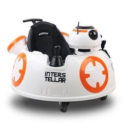 Rigo Kids Ride On Car  - Orange & White