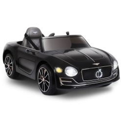 Kids Ride On Car Bentley Licensed EXP12 Electric 12V Black