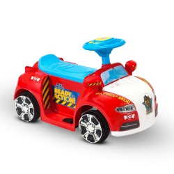 Kids Ride-On Car PAW Patrol 6V Battery Toy Rescue Vehicle Foot On Deck Control