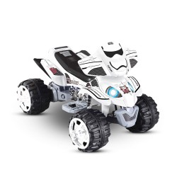 Kid's Licensed Storm Trooper Star Wars Electric Quad Ride-on Car 12v