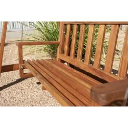Kid Outdoor Hardwood Garden Swing