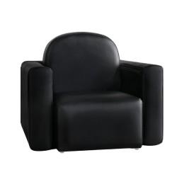 Artiss Kids Covertible Armchair - Black