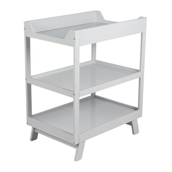 Porta Casa 3 Tier Change Table - Grey