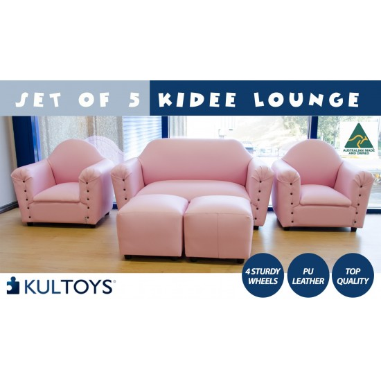 Set Of Five Kids Lounge