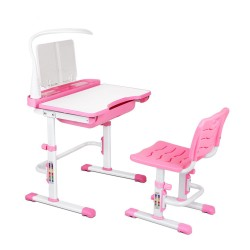 Artiss Kids Study Desk and Chair - Pink