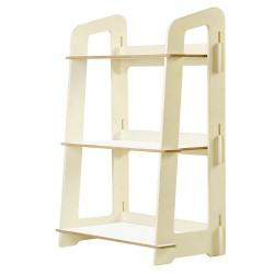 Artiss Kids Bookshelf Children Ladder Shelf Toy Display 3 Tier