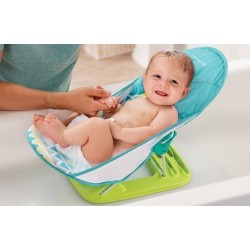 Deluxe Baby Bather - Triangle Stripes