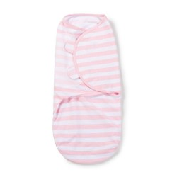 Original Swaddle Small - Pink/White Stripe - 1Pk
