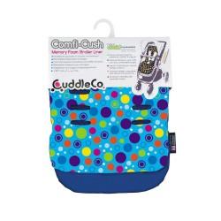 Cuddelco ComfiCush Pram Liner Blue Spots