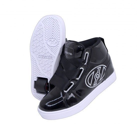 Heelys Highline Kids Skate Roller Shoes Boys Girls Sneakers Toddler Black US 7