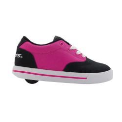 Heelys Launch EM Kids Skate Roller Shoes Boys Girls Sneakers Toddler Pink Black US 6