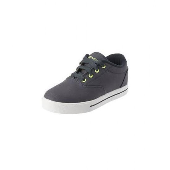 Heelys Launch EM Kids Skate Roller Shoes Boys Girls Sneakers Toddler Grey White US 2