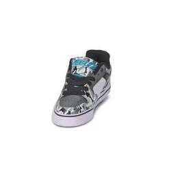 Heelys Launch EM Kids Skate Roller Shoes Boys Girls Sneakers Toddler Grey White US 4