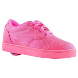 Heelys Launch Kids Skate Roller Shoes Girls Sneakers Toddler Pink Wheels Lace Up US 7