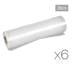 Set of 6 Food Sealer Roll 28cm