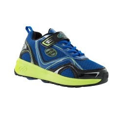 Heelys Rise X2 Kid Wheel Skate Roller Shoes Sneaker Toddler Shoe Blue Kids US13