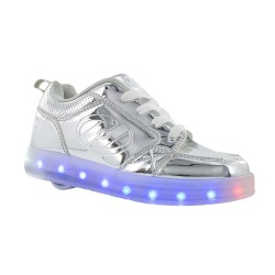 Heelys Premium 1LO Kids Skate Roller Shoes Sneaker Boys Girls LED Luminous US4