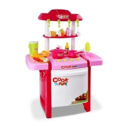 Keezi Kids Mini Chef Cookware Set - Pink