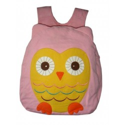 Hootie Owl Back Pack-Pink