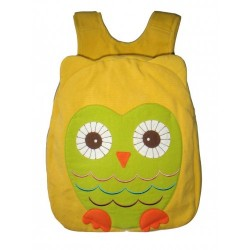 Hootie Owl Back Pack-Yellow