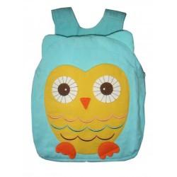Hootie Owl Back Pack-Blue
