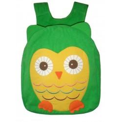 Hootie Owl Back Pack-Green