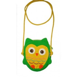 Hootie Owl Hand Bag Green