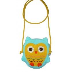 Hootie Owl Hand Bag Blue