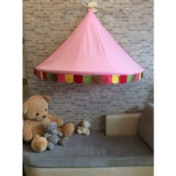 Hanging Canopy Pink