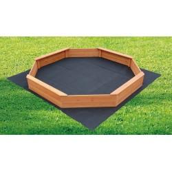 Kids Sand Pit Large Octagonal Wooden Sandpit